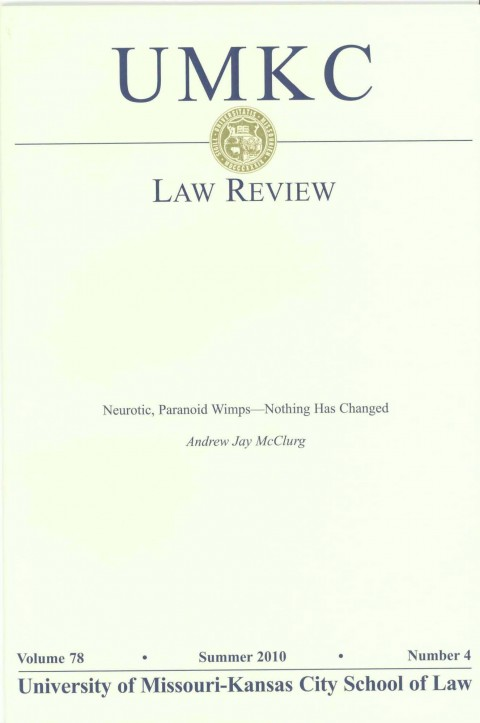 UMKC Law Review