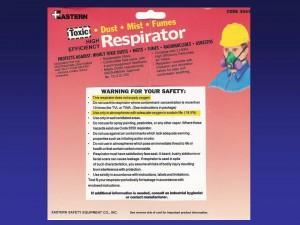 respirator warning
