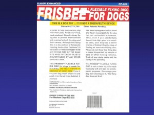 Frisbee warnings