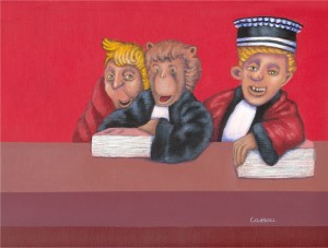 humorous legal paintings