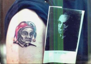Judge Learned Hand tattoo