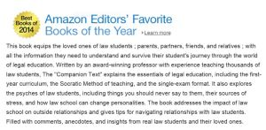 "The ""Companion Text"" to Law School named one of Amazon's Best Books of 2014."