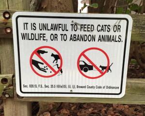 Cat sign 2