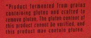 Gluten - Read the Fine Print