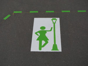 Prostitution Sign in Zurich